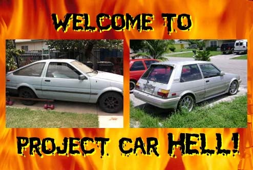 Project Car Hell, Screamin' Corolla Edition: AE86 or FX16?