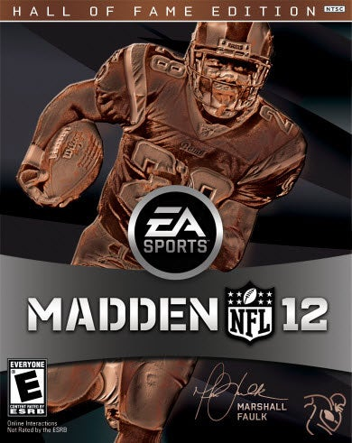 Madden 12's Cover Is Brought to You by the Colour Brown