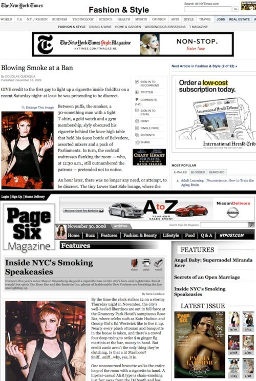 """The Problem with """"Smoking In New York"""" Trend Pieces is that They're Like Cigarettes"""