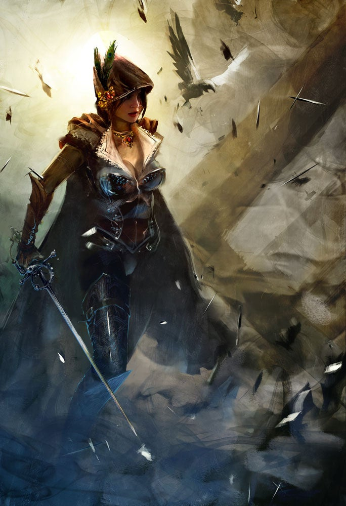 This Guild Wars 2 Art Can't Stand Still