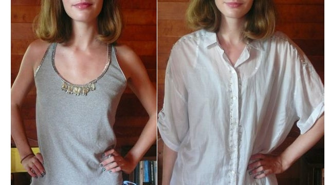 Make A Cool Shirt Cooler With Safety Pins