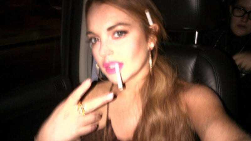 Lindsay and Dina Lohan Claw at Each Other in Car Fight; Blood Is Drawn, 911 Is Called