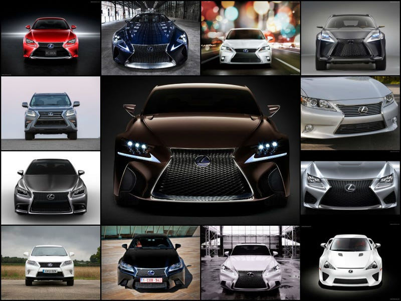 Lexus is the top selling luxury brand in the USA for the second month in a row