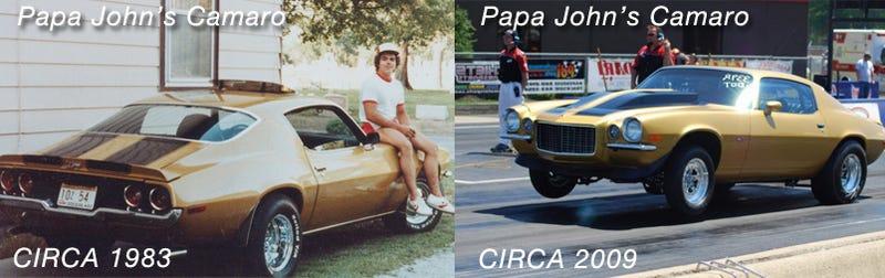 How Jalopnik Reunited Papa John With His Camaro