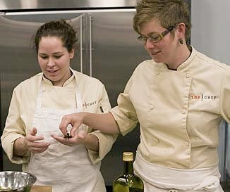 Is Top Chef Just One Big Lesbianic Morality Play?
