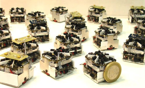 Swarm of Cheap Open Source Robots Set to Take Over the World