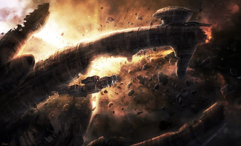 There's already beautiful fan art for Ridley Scott's Prometheus
