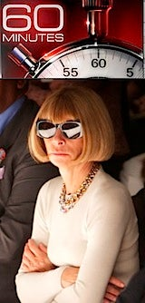 Will 60 Minutes Help Anna Wintour Keep Hold of Vogue?