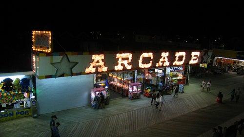 A Summer Mid-Night's Arcade