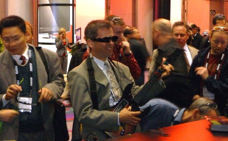 CES 09: I Just Played Guitar Hero III... In 3D!!!