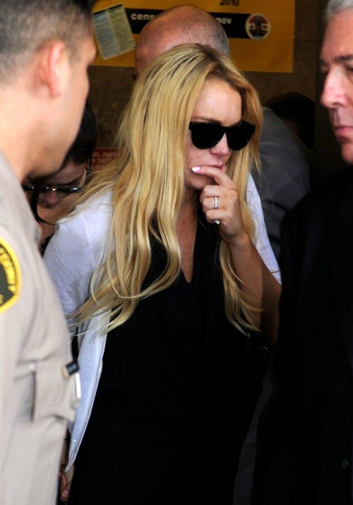 Pictures Of Lindsay Lohan Allegedly Doing Heroin Surface In UK Tabloid