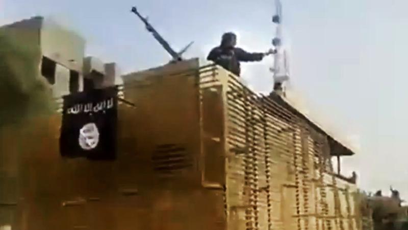 ISIS Militants Fly Black Flags Over Iraq's Largest Oil Refinery