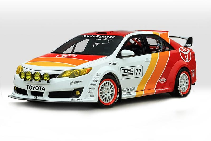 Don't Forget To Vote For Parker Kligerman's Camry Rally Car