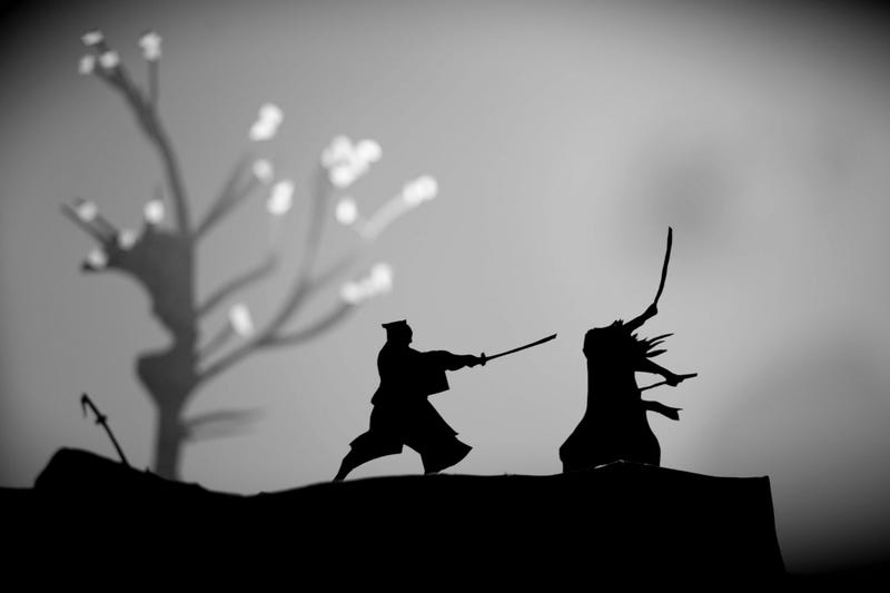 Amazing papercraft art captures the silhouettes of great movie moments