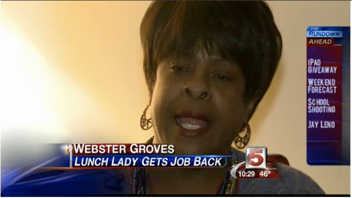 Cafeteria Worker Rehired After Losing Job for Giving Food to Low-Income Student