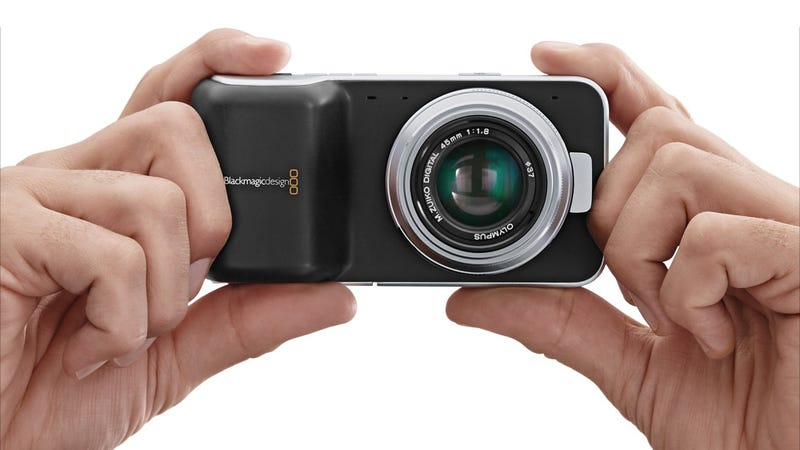 Blackmagic Pocket Cinema Camera: RAW Video In the Palm of Your Hand for $1000
