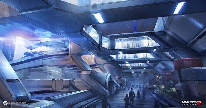 The Battlefields, Hangar Bays and Future Guns of Mass Effect 3