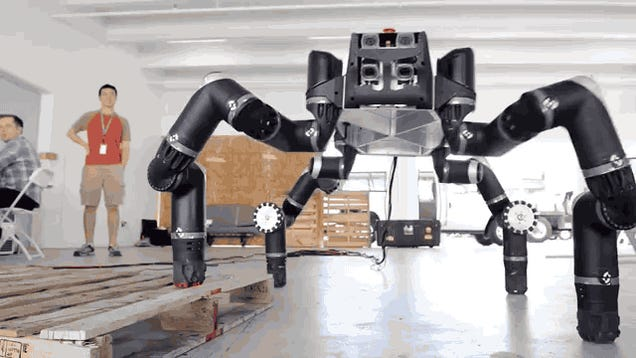 Meet Robosimian, the ape-inspired robot!