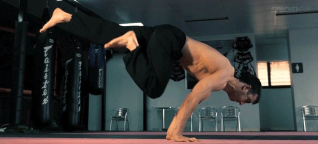 The insane workout of a professional breakdancer