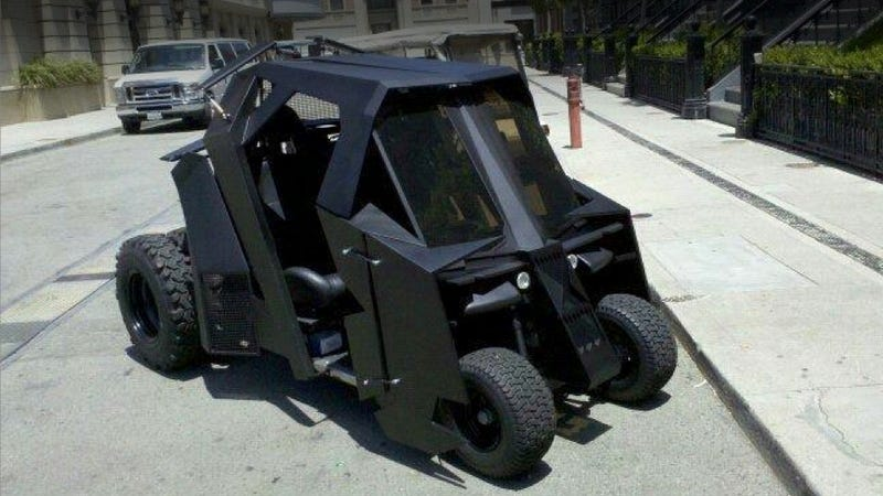 This Is The Unofficial Batmobile Golf Cart
