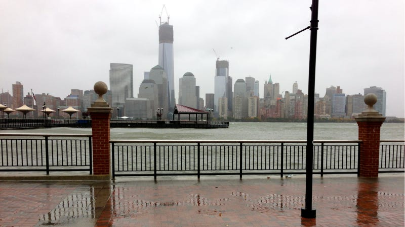 This Is How Hurricane Sandy Currently Looks Outside Manhattan