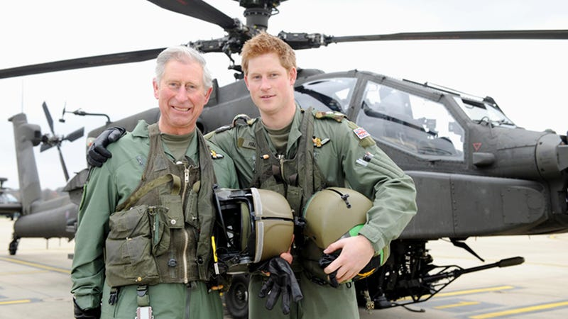 Prince Harry Is Coming to the U.S. in His Helicopter