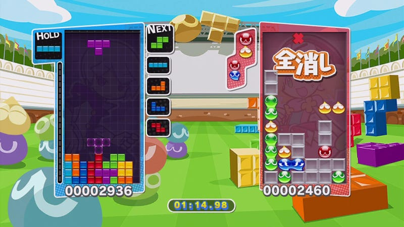 Puyo Puyo Tetris Blends Two Classics into One Awesome Game