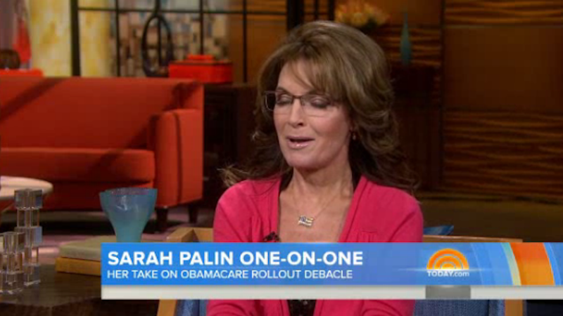 Sarah Palin Has Gone Batshit Insane Over the 'War on Christmas'