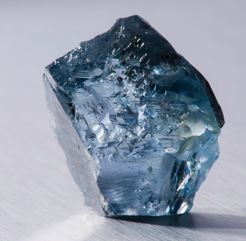 This extremely rare blue diamond was just found in South Africa
