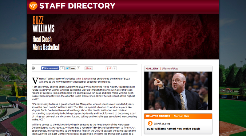 This Is Not Buzz Williams