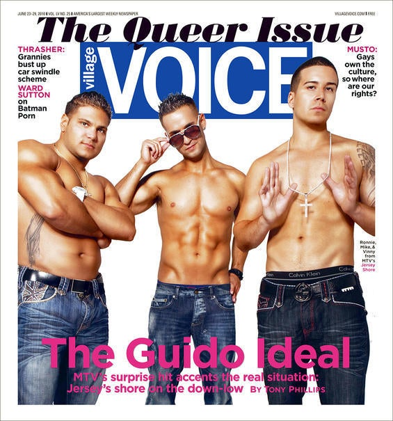 Yes, the Jersey Shore Boys Are Queer as Can Be