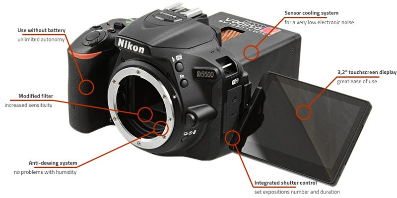 This Upgraded Nikon Chills the Sensor For Clearer Shots of the Stars