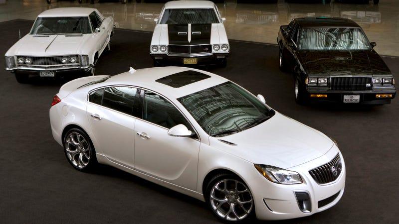 The 2014 Buick Regal Debuts Among Slightly More Badass Buicks
