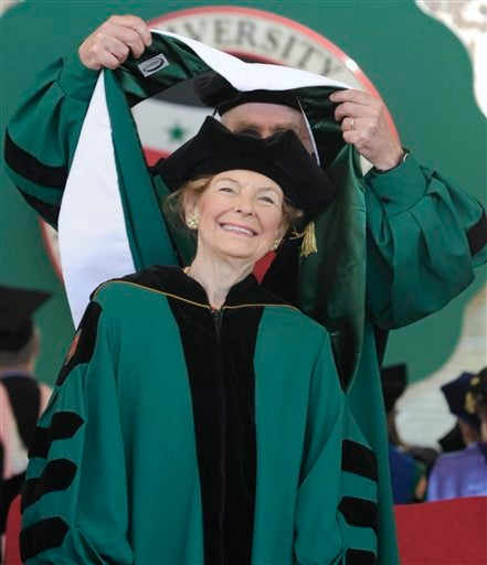 Phyllis Schlafly Achieves Yet Another Degree Without Actually Absorbing Any Knowledge!