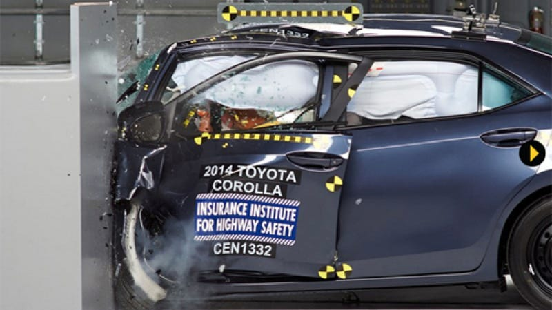 2014 Toyota Corolla Gets Low Score On America's Toughest Crash Test