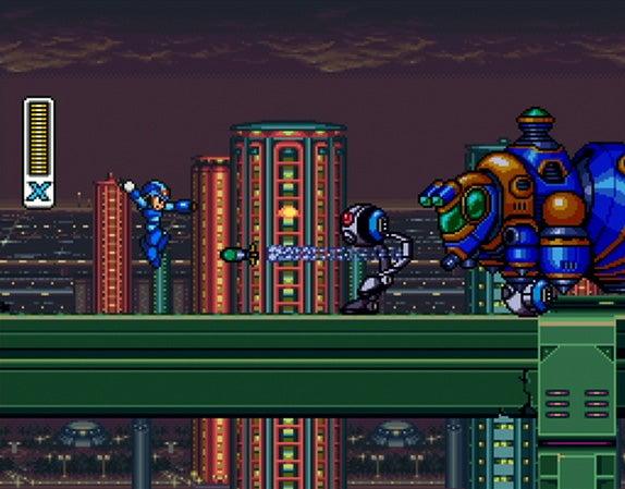 Mega Man X Marks The Nintendo Download