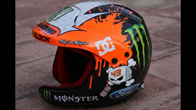 Ken Block's helmet stolen, reward for return is free ride