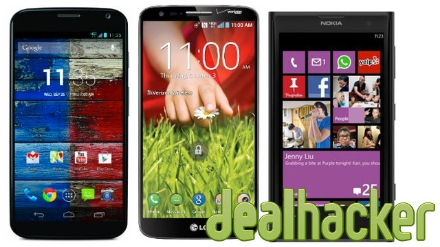 """Today's Deals: Top-Tier Smartphones, AC Router, 27"""" IPS Display"""