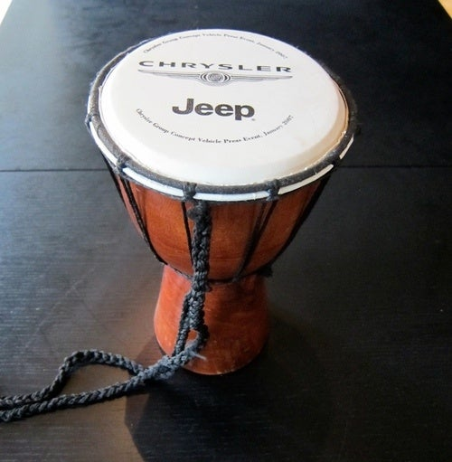 Join Jalopnik On Facebook, Win A Chrysler Jeep Djembe Drum
