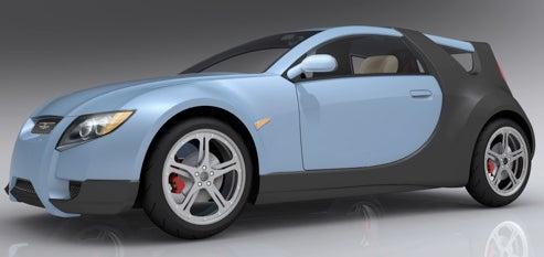 100 MPG Or Bust: Motive Industries Release Renderings Of Their X PRIZE Entrant