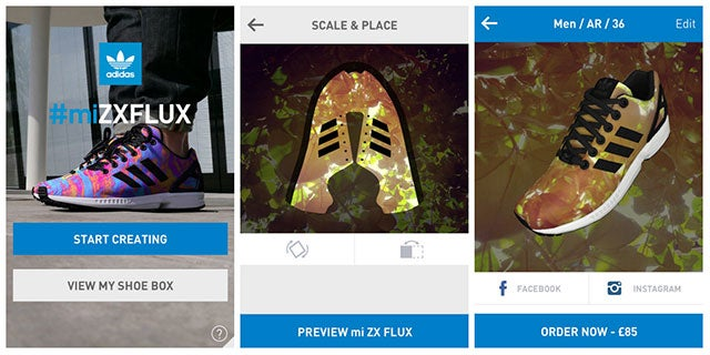 This App Lets You Create Custom Shoes With Your Own Photos