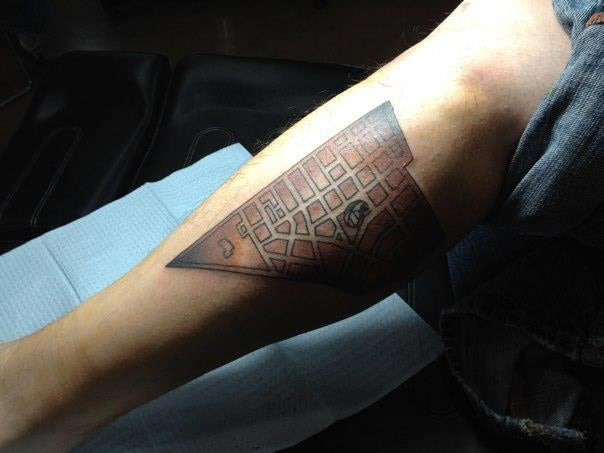 11 Map Tattoos That Pay Tribute to Cities and Their Systems