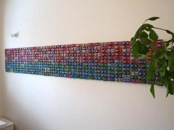 Toy Car Wall Art