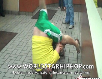 Cheeseburger Brawl Results in De-Pantsing, Is Videotaped by Famous Rapper