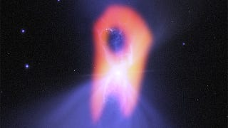 The coldest known place in the Universe looks like an eerie space ghost