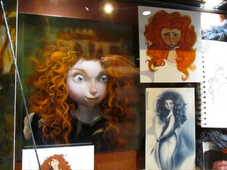 Beautiful Brave concept art takes you behind the ginger curls of Pixar's first solo female hero