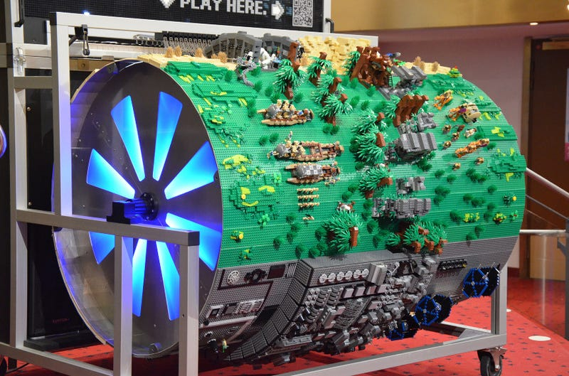 Crazy detailed Star Wars organ turns the Death Star into circus music