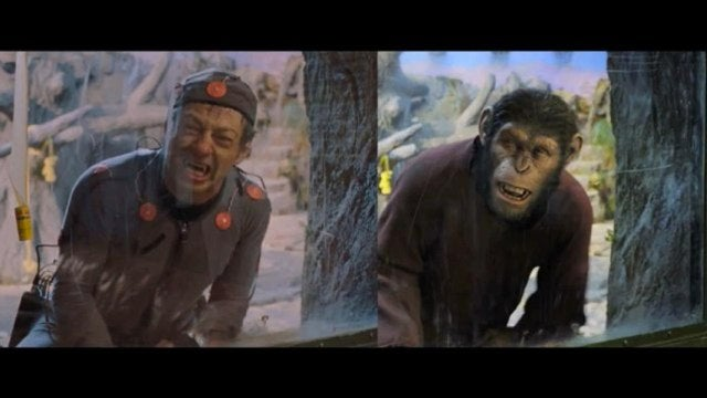 CG-free clip from Planet of the Apes shows why Andy Serkis should get an Oscar nod