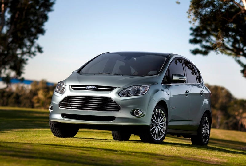 Ford C-Max Energi And Hybrid Charge Up