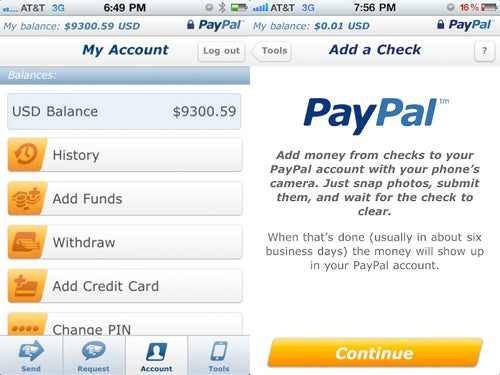 Pay In Checks to Your PayPal Account Thanks to Their Latest iPhone App Update